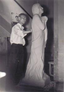 Statue de Jeanne d'Arc, Saïgon (1962)