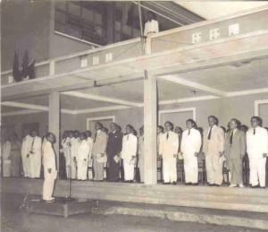 Discours d'inauguration, École des Beaux-arts de Gia-Dinh, 1954
