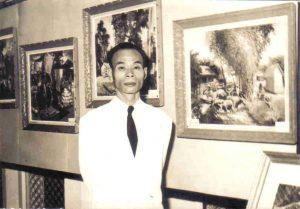 Nguyễn Sao à Saigon en 1960