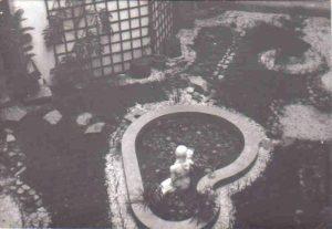 Décor d'un jardin (vers 1970)